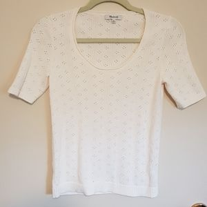 Madewell knit scoopneck seventies style tee
